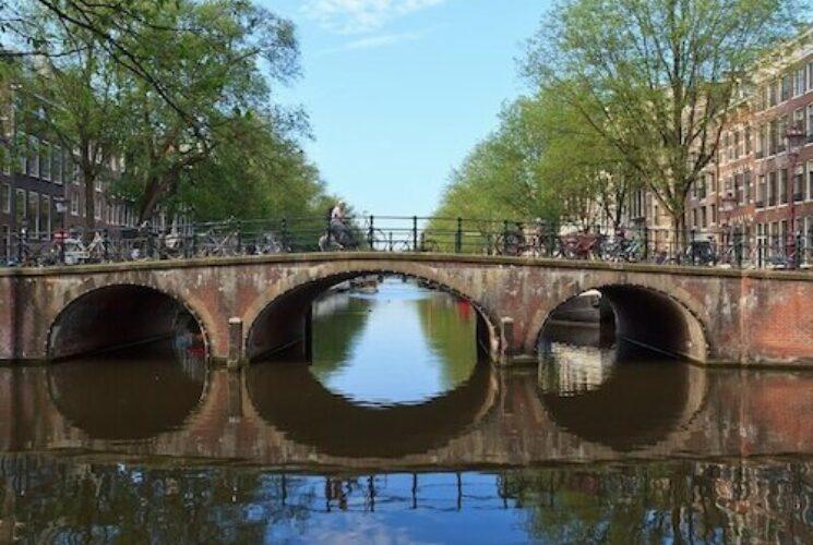 Amsterdam Cologne bike and barge
