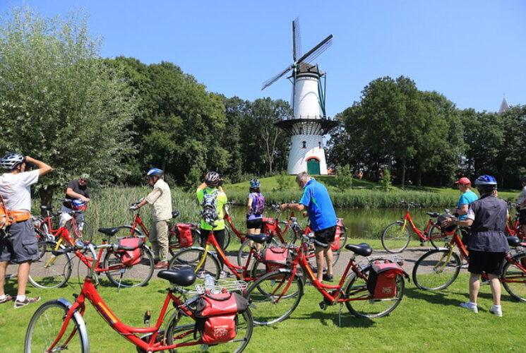 Bruges Brussels boat bike tour Jpg