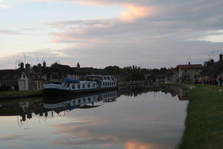 Loire Schip Avond