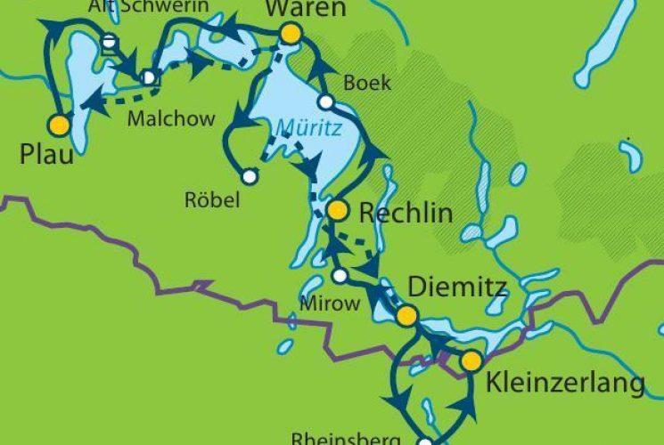 Mecklenburg Map