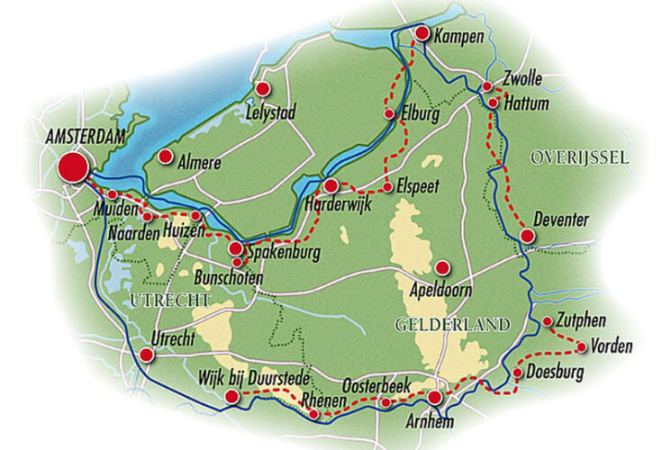 East Route Map